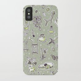 Witchcraft Pattern iPhone Case
