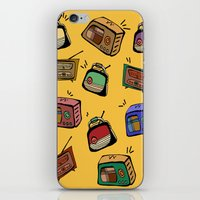 radio iPhone & iPod Skins featuring Radio Show by andy_panda_