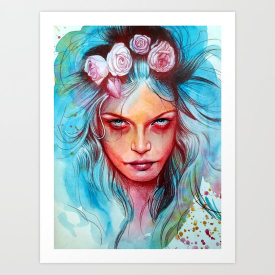 Only the Wicked Art Print