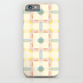 Cericopithicus - Abstract Colorful Summer Style Pattern iPhone Case
