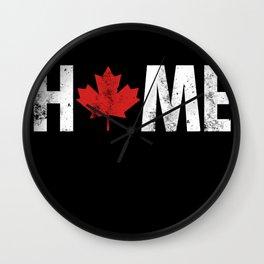 Canada Home Wall Clock