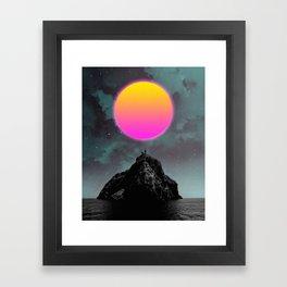 Xoc Framed Art Print