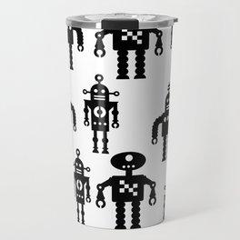 Three Robots by Bruce Gray Travel Mug
