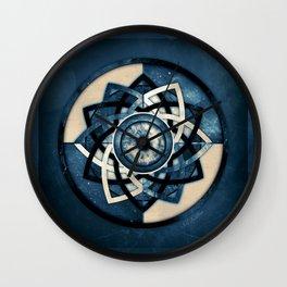 Cosmic Eye Mandala Wall Clock