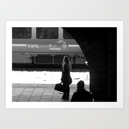 Waiting #55 Art Print
