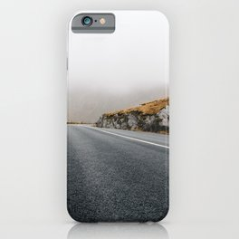 Misty Lonely Road II iPhone Case