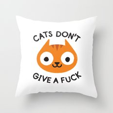 Careless Whisker Throw Pillow