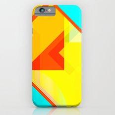 bipolar yellow iPhone 6s Slim Case