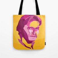 han solo Tote Bags featuring Han Solo by Jude Beavis