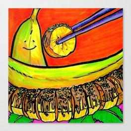 Banana Sushi Canvas Print