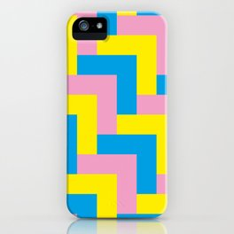 An easy one. Arrow heads...Graphical arrow heads in children colors. iPhone Case