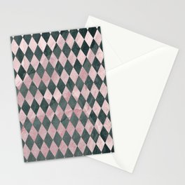 Marble Harlequin Stationery Cards