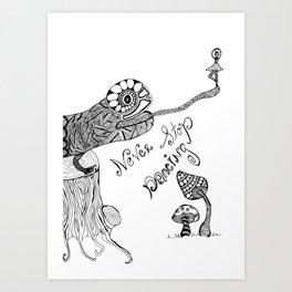 dance always Art Print
