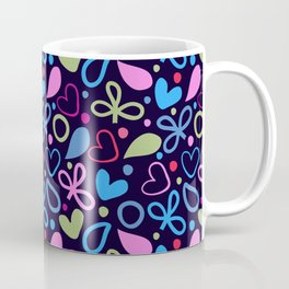 Colorful Lovely Pattern XVIII Coffee Mug