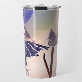 Proxima Centauri Vintage Sci-fi Ski travel poster Travel Mug