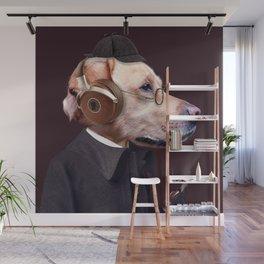 Dog Sherlock Holmes Wall Mural