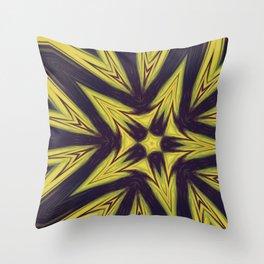 Expantion of light Throw Pillow
