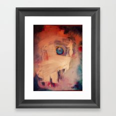 Invisible Fish Framed Art Print