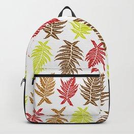 Inked Ferns – Autumn Palette Backpack