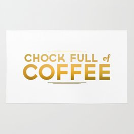 Chock Full of Coffee Rug