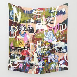 Social network Wall Tapestry