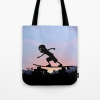 Silver Surfer Kid Tote Bag