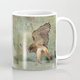 Feathered Fury Above Coffee Mug