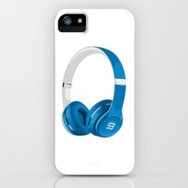 Vive la musique - Headphones, by SBDesigns iPhone Case