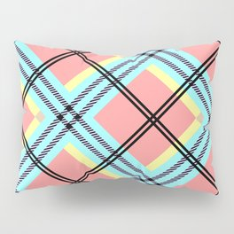 Cheerful plaid Pillow Sham