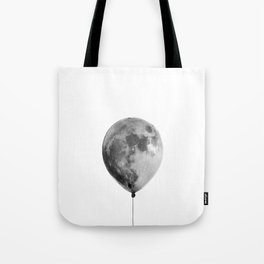 The light side of the moon Tote Bag