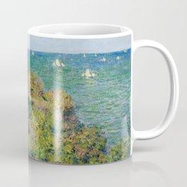 Fisherman's Cottage on the Cliffs at Varengeville Claude Monet Coffee Mug