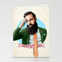 montana Stationery Cards featuring Mr. Montana by keith p. rein