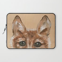 Nursery Art / Decor - Woodland bay fox Laptop Sleeve