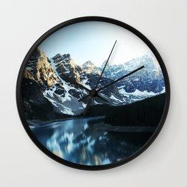 Mountain Glory Wall Clock