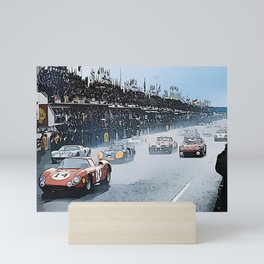 Le Mans 1964 Start Mini Art Print