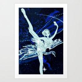 Cygnus / Leda and Swany Art Print