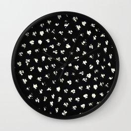 Cat Spots 2 Wall Clock