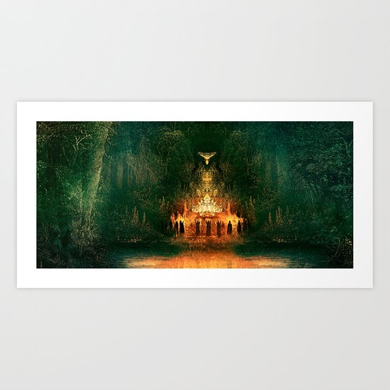 3:33 - Live From the Grove print Art Print