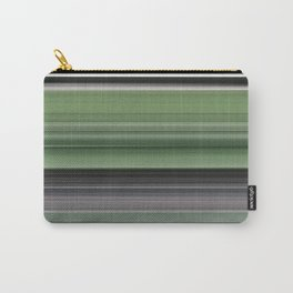Olive green and grey Carry-All Pouch