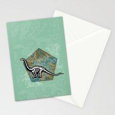Brachiosaurus Fossil Stationery Cards