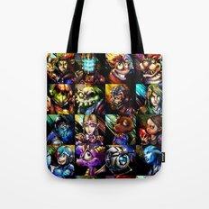 Videogame MashUP Tote Bag