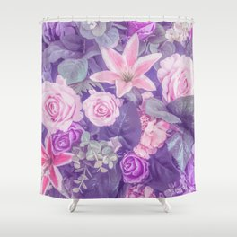 Hopeless Romantic Shower Curtain