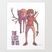 The Last of Us: Ellie Art Print