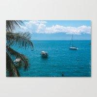 boats Canvas Prints featuring Boats by Mauricio Santana