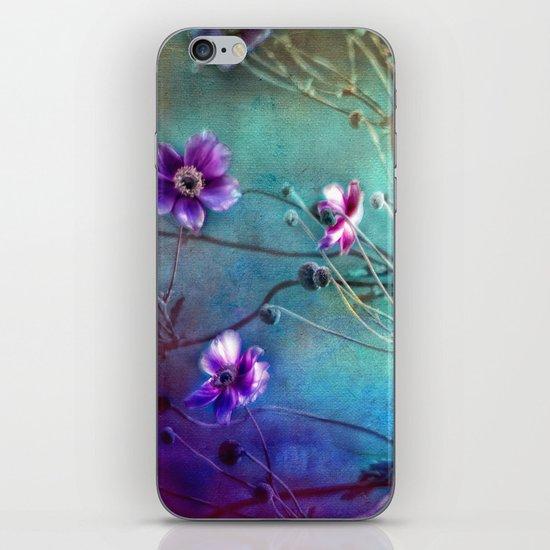 FLEURS DU PRÉ III - Wildflowers in painterly style iPhone & iPod Skin