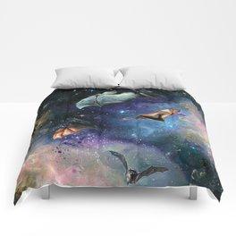 Scream of a Great Bat Comforters