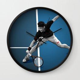 Kei Nishikori Wall Clock