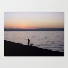 Venus finding her soul in the water. Canvas Print