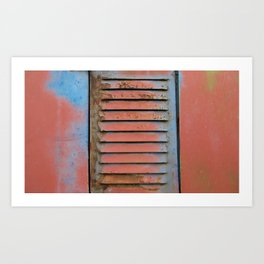Rugged Art Print