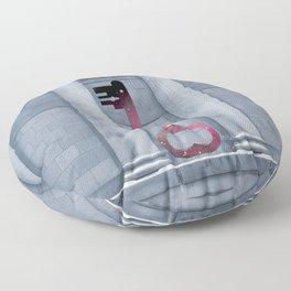 Key to Cosmos Floor Pillow